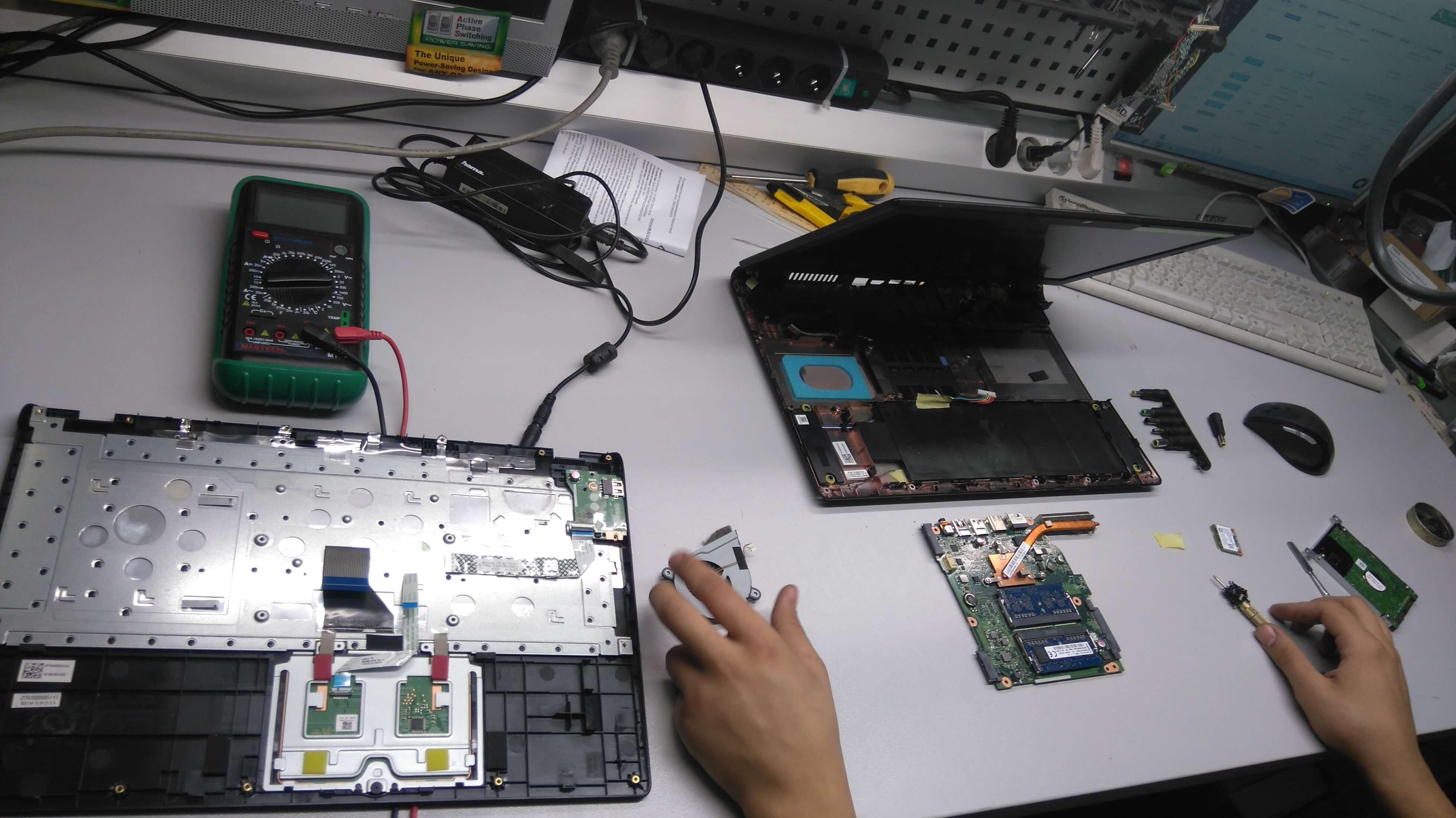 ремонт старых ноутбуков