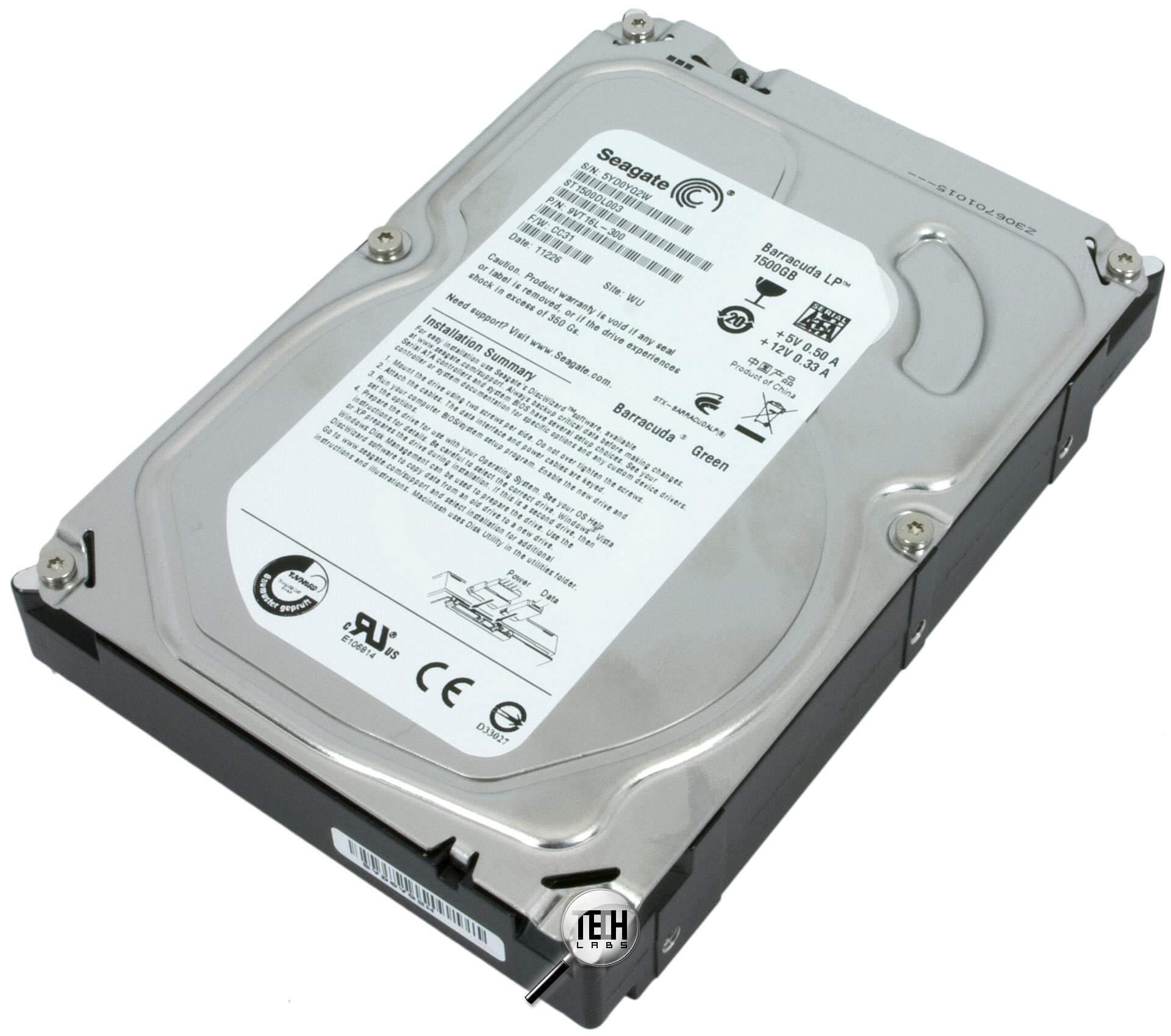 Ремонт жестких дисков Seagate