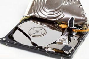 Восстановление жесткого диска после падения