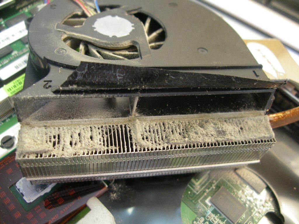 Cколько стоит почистить ноутбук от пыли и заменить термопасту?