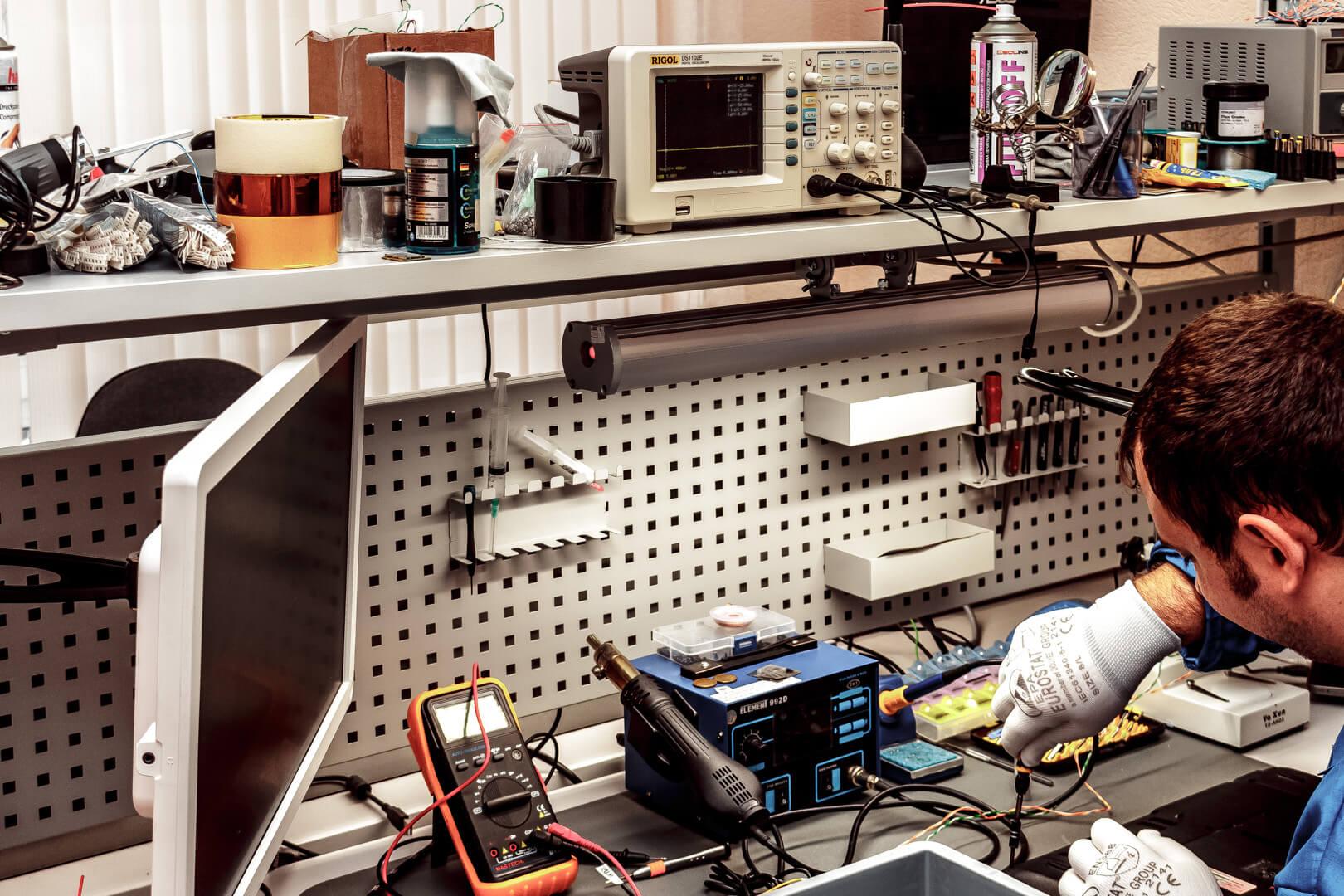 ремонт электронники киев