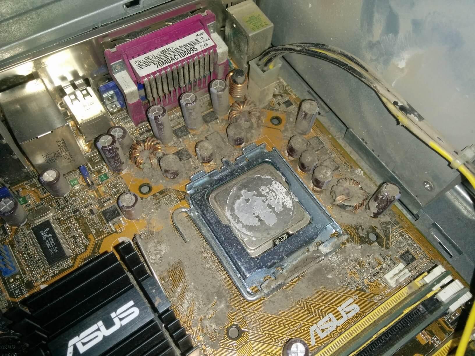 Замена термопасты на ноутбуке цена