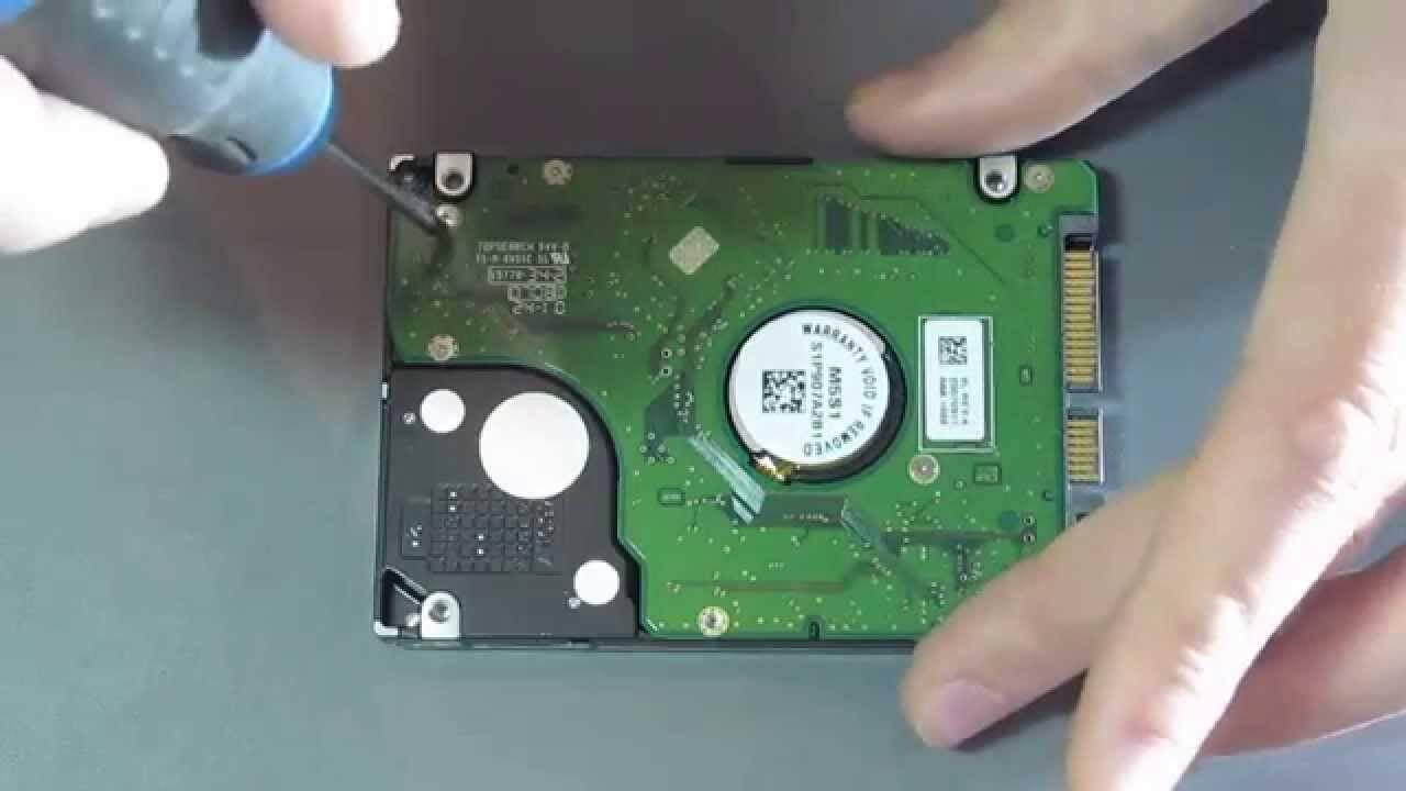 Ремонт внешних жестких дисков