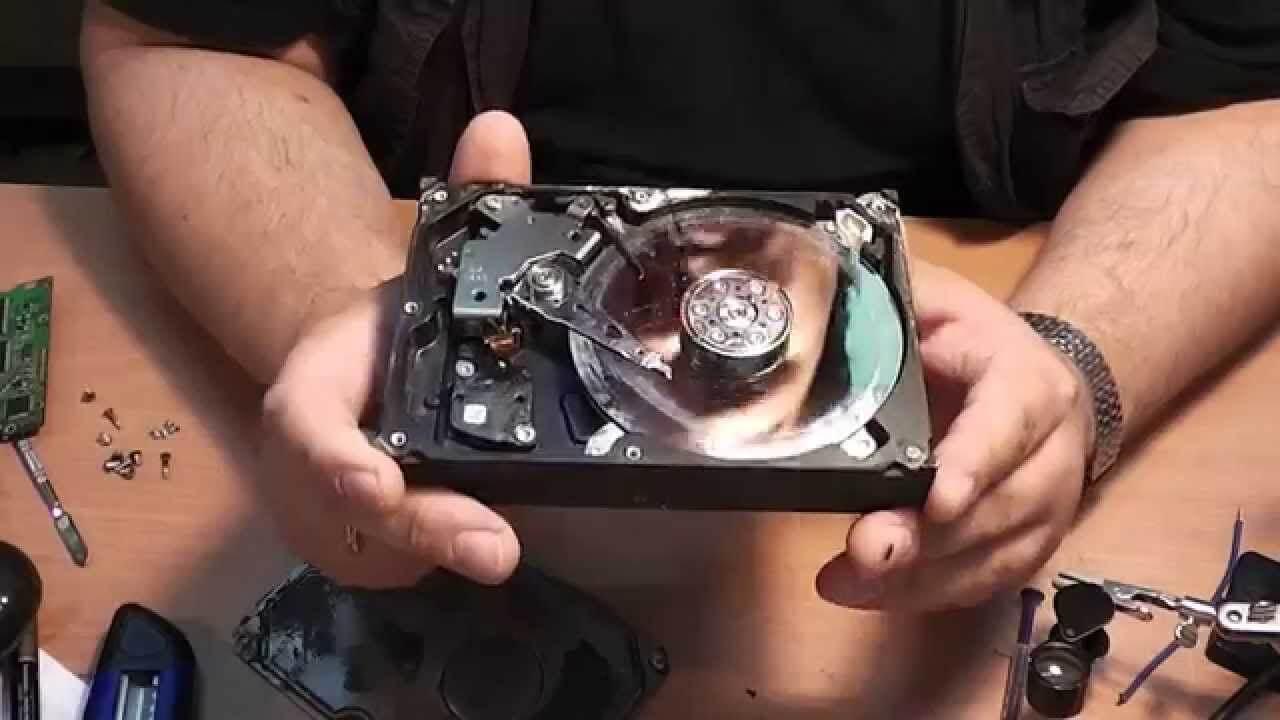 Реанимация жесткого диска