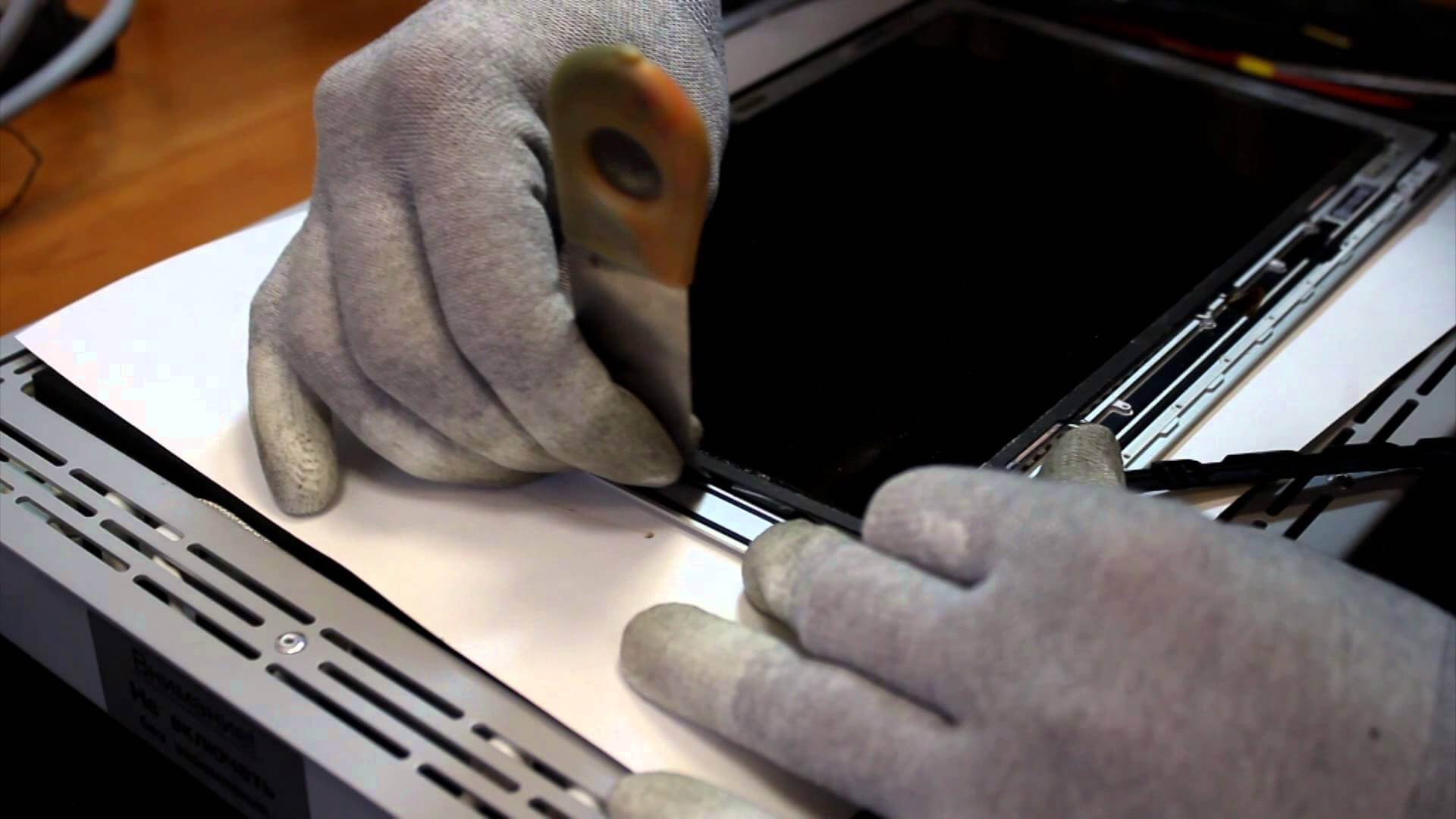 Замена матрицы на MacBook Air