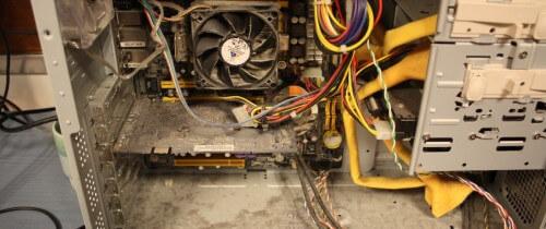Замена термопасты на компьютере
