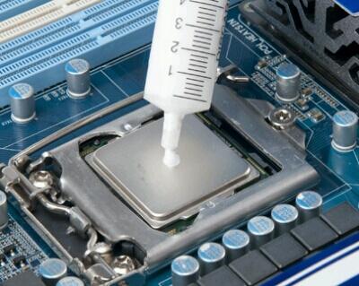 Как поменять термопасту на процессоре 1