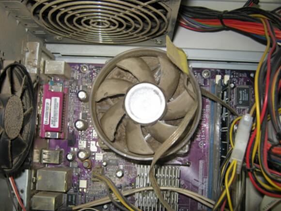 Перегревается процессор на компьютере