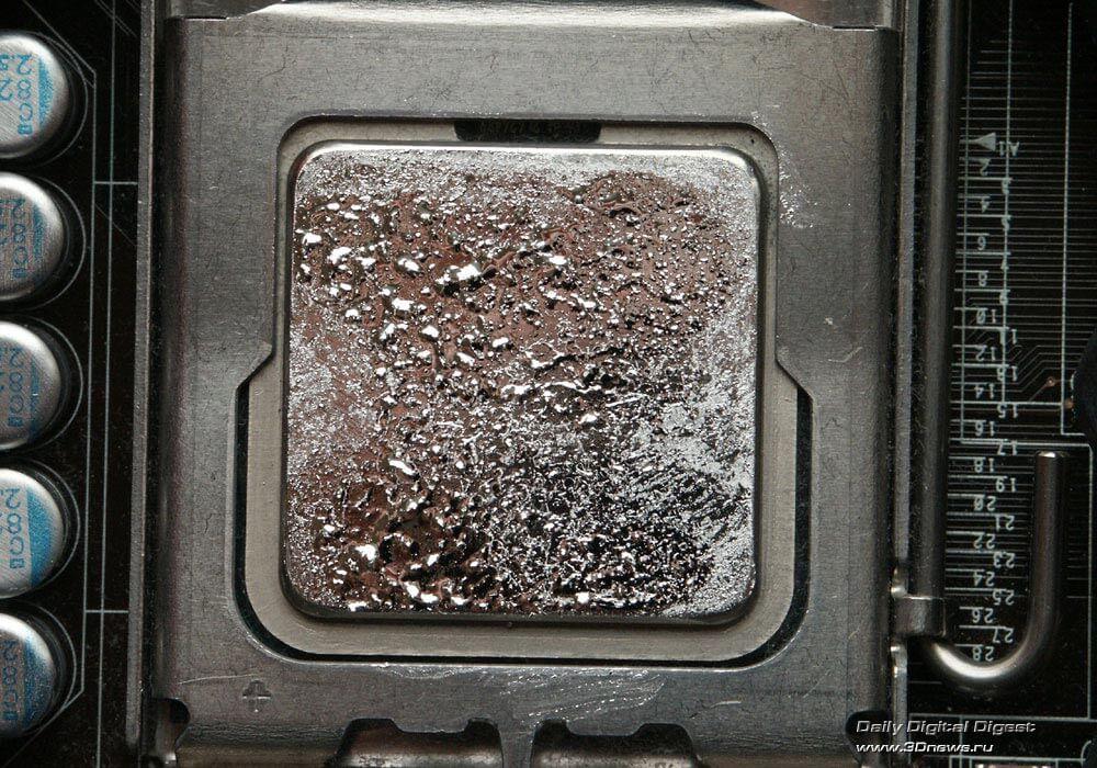 Жидкий металл вместо термопасты