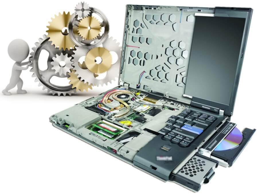 Услуги ремонта ноутбуков 4
