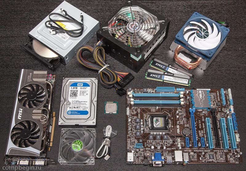 Собрать домашний компьютер самому