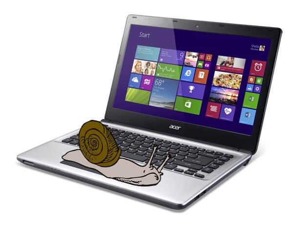 Ноутбук очень долго загружается