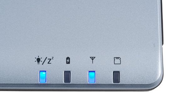 При подключении к ноутбуку, индикатор на БП не горит