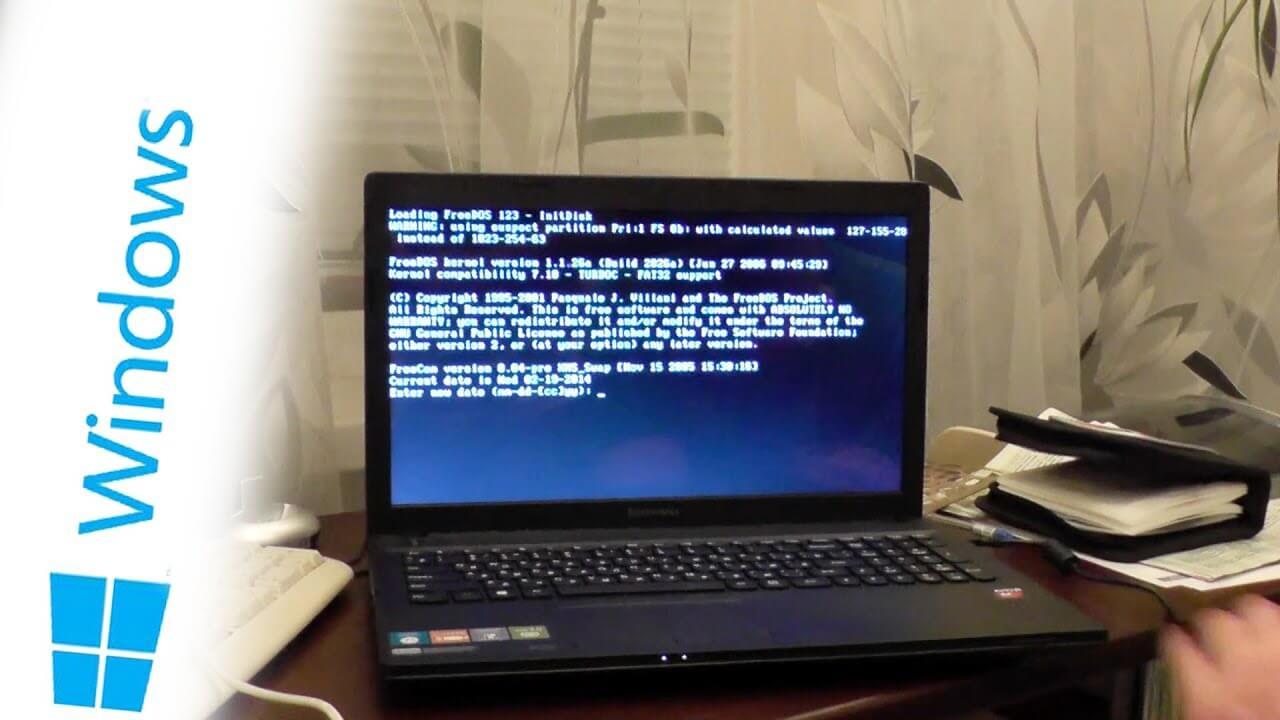 Как установить Windows на ноутбук