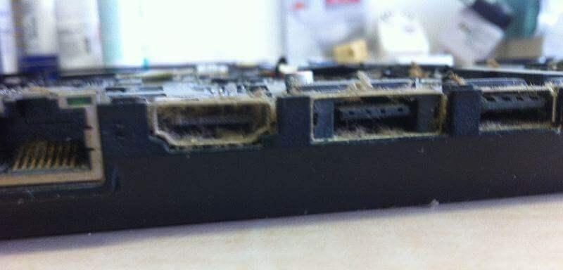 Устранение плохого контакта usb разъема ноутбука